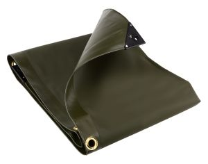 3m x 3m 560gsm Olive Green